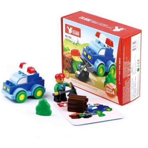 لعبة التركيب - سيارة الشرطة