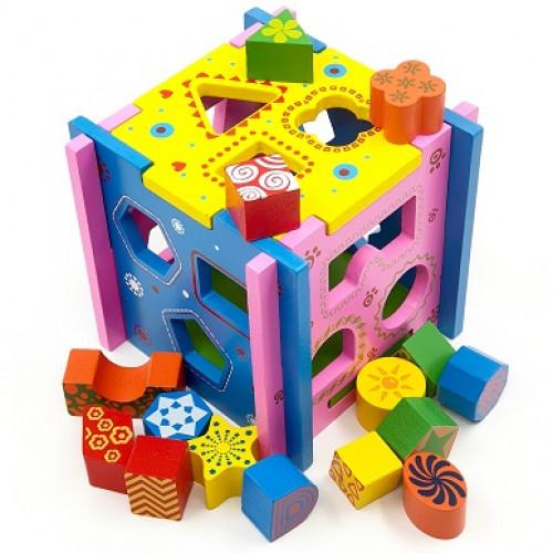 لعبة التطابق والأشكال الهندسية