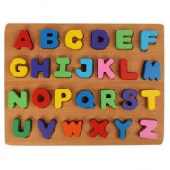 الحروف الانجليزية الخشبية - حجم كبير