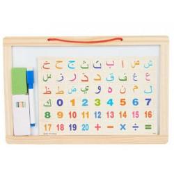 سبورة تعليم الحروف والأرقام