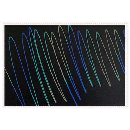 لوح LCD للكتابة والرسم والتعليم ملون 11 انش - أزرق