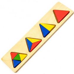 ترتيب كتل المثلثات