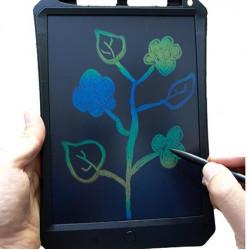 لوح LCD للكتابة والرسم والتعليم ملون 11 انش - أسود