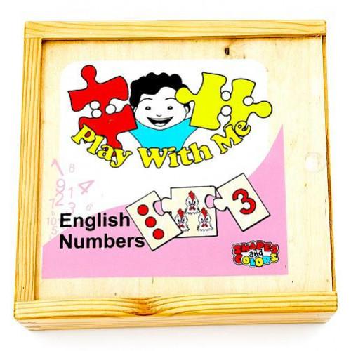 العب مع الأرقام الانجليزية