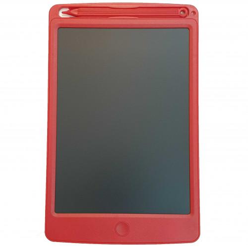 لوح LCD للكتابة والرسم والتعليم - أحمر