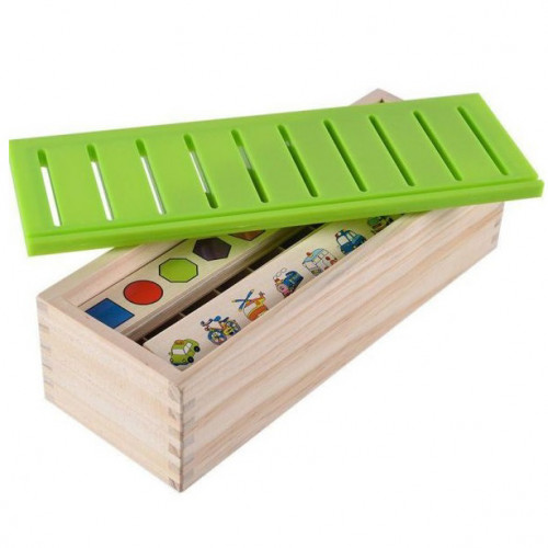 صندوق المعارف الخشبي - حجم صغير