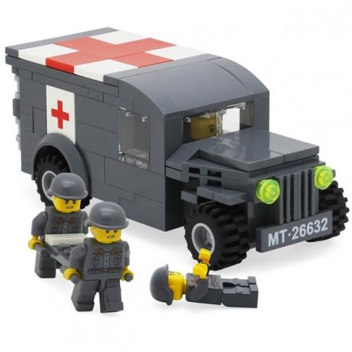تركيب القطع - سيارة الإسعاف العسكرية