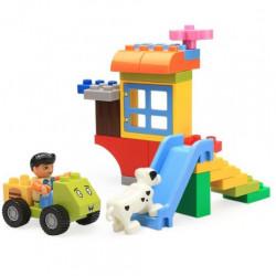 لعبة التركيب - بناء الحديقة
