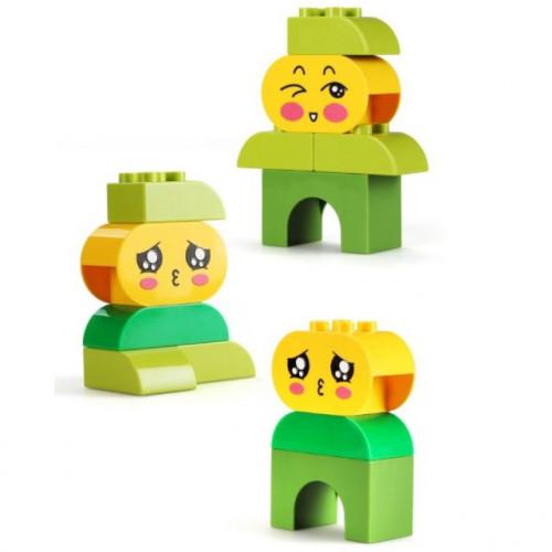 لعبة تركيب ليغو - الرموز التعبيرية أولاد