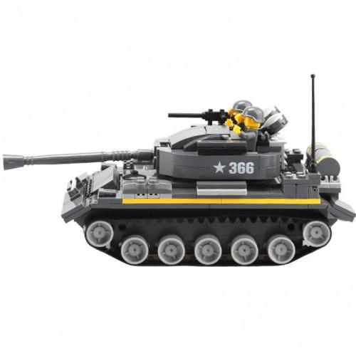 تركيب القطع - الدبابة