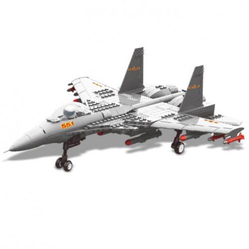 تركيب القطع - طائرة حربية