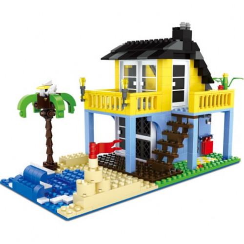 تركيب القطع - بيت الشاطئ
