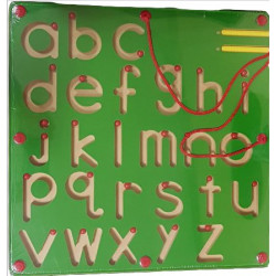 تعلم كتابة abc