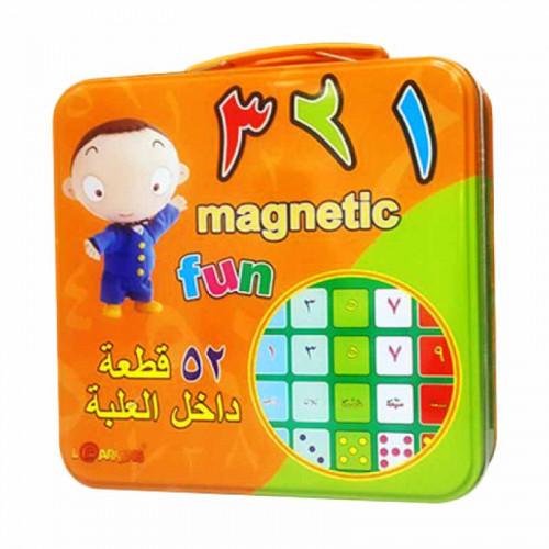 مغناطيس الأرقام-عربي