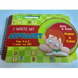 أنا أكتب الحروف-إنجليزي