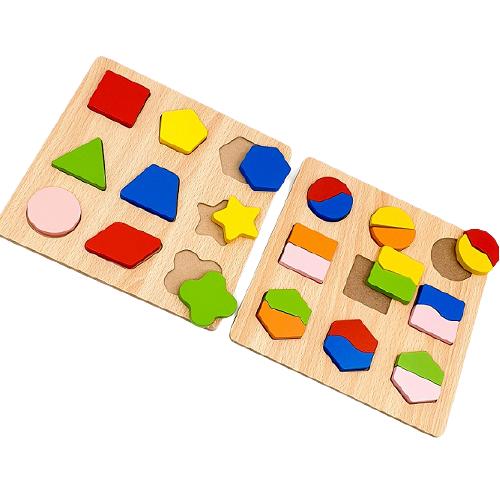 تطابق الأشكال الهندسية - عدد 2 لوح