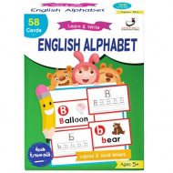 بطاقات تعليم كتابة الحروف الانجليزية