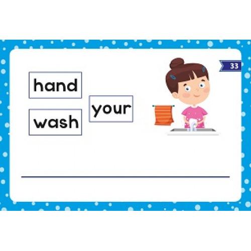 بطاقات تركيب الجمل الانجليزية