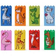 لعبة تركيب ليغو - الحيوانات السعيدة
