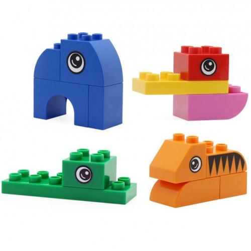 لعبة تركيب ليغو - حيوانات الغابة