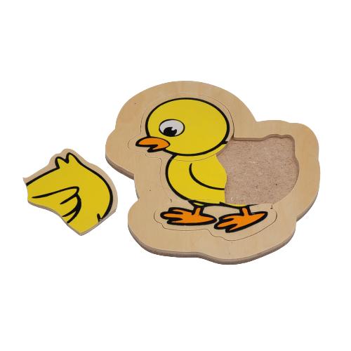 لوح تركيب خشبي - الكتكوت