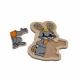 لوح تركيب خشبي - الأرنب