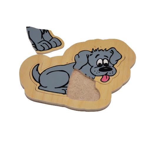 لوح تركيب خشبي - الكلب
