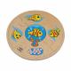 تركيب خشبي - نمو السمكة