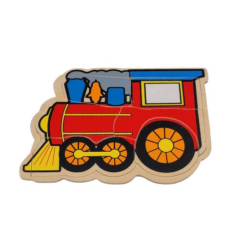 بزل خشبي - القطار