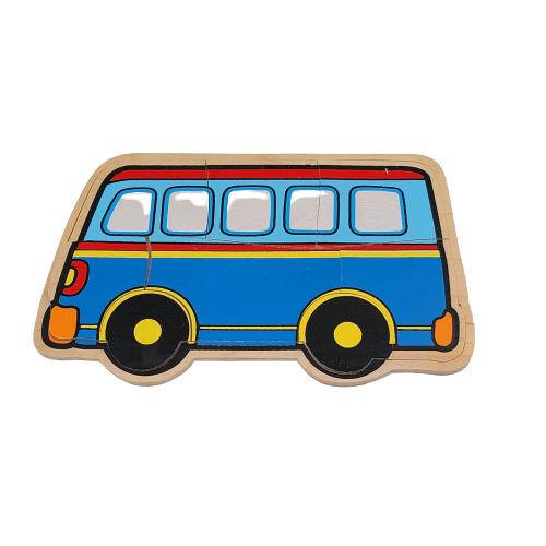 بزل خشبي - الباص
