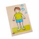 تركيب خشبي - جسم الولد