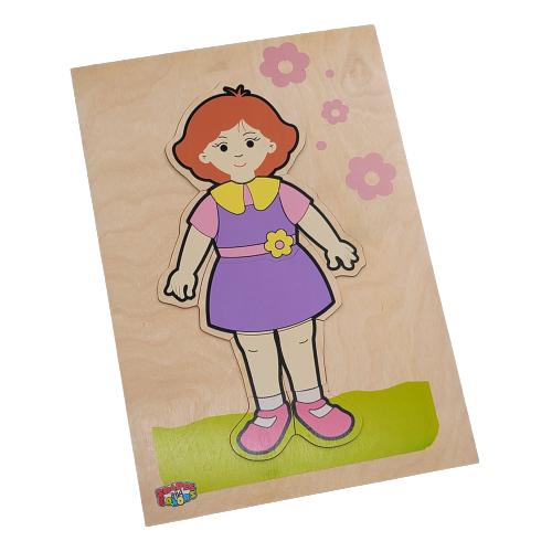 تركيب خشبي - جسم البنت