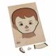 تركيب خشبي - وجه الولد