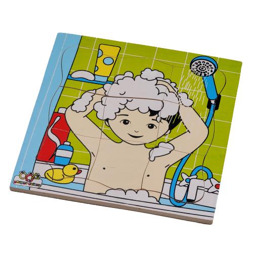 تركيب خشبي - الاستحمام
