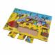 لوح تركيب خشبي - البيئة الصحراوية