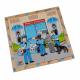 لوح تركيب خشبي - مهنة الشرطي