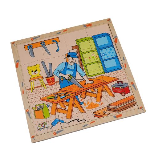 لوح تركيب خشبي - مهنة النجار