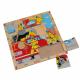 لوح تركيب خشبي - مهنة الاطفائي