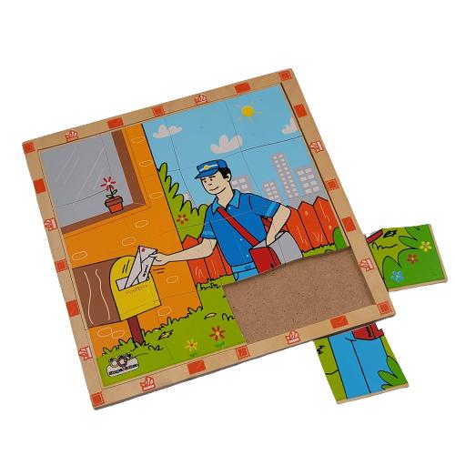لوح تركيب خشبي - مهنة البريد