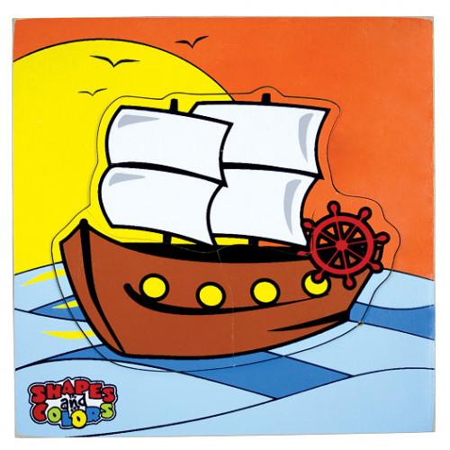 تركيب خشبي - القارب