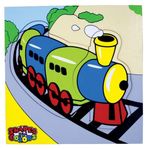 تركيب خشبي - القطار