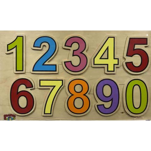 الأرقام الانجليزية الخشبية