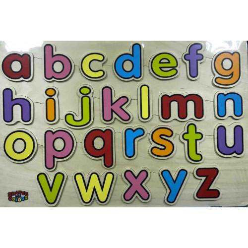 الحروف الانجليزية الخشبية - سمول