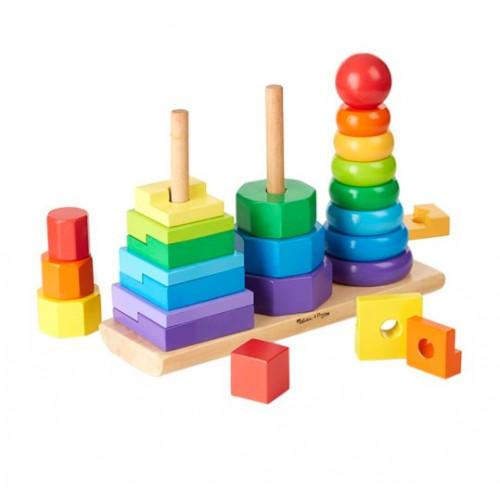 تجميع القطع بأشكال هندسية