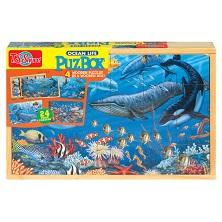 لعبة تركيب الصور - حيوانات البحر