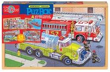 لعبة تركيب الصور - سيارات الطوارئ
