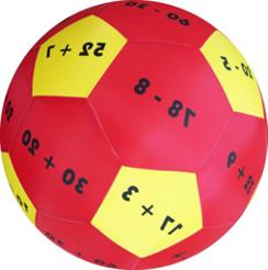 كرة تعلم الارقام والجمع والطرح