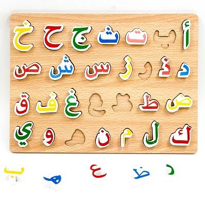 لوحة الحروف العربية